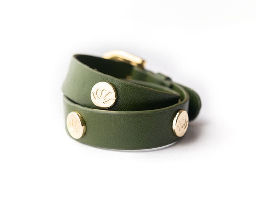 CACTUS 2 in 1 Wrap Bracelet + Choker in Green