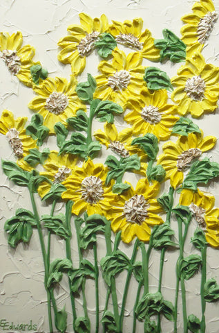 24 x 36 Sunflower field - SOLD