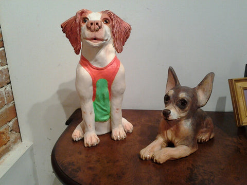 Lorone Hudson Pet Portrait Sculpture