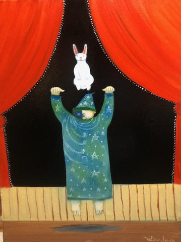 """Raising the Rabbit At the Magic Show"""