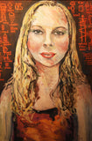"Portrait of the Artist Daughter ""Caroline"""