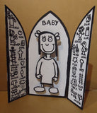BABY & THE HEALIN' SYMBOLS ALTAR PIECE
