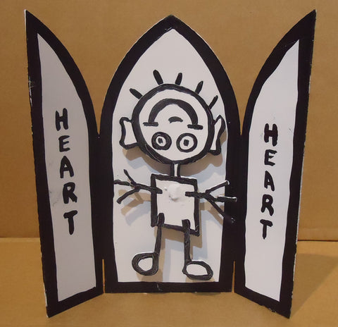 Copy of HEART ALTAR PIECE