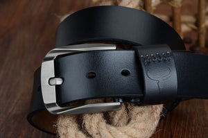 Men's Leather Vintage Belt