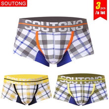 Load image into Gallery viewer, Men's Cotton Boxers - Set of 3