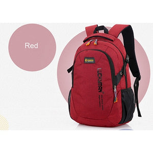 Men's Waterproof Nylon Backpack