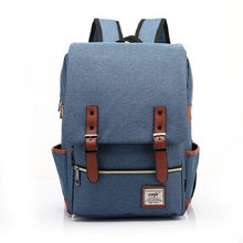Load image into Gallery viewer, Men's Vintage Canvas Backpack
