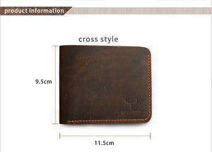 Men's Leather Vintage Wallet