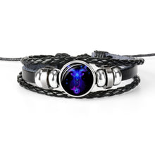 Load image into Gallery viewer, Men's Zodiac Sign Bracelet
