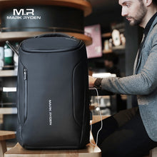 Load image into Gallery viewer, Men's Anti-Theft Waterproof USB Charging Backpack