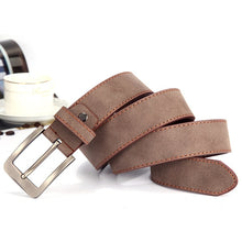 Load image into Gallery viewer, Men's PU Leather Belt