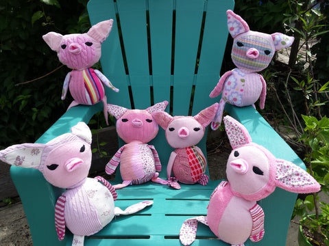 Pignocchio Children's Pig Plushie Soft Toy