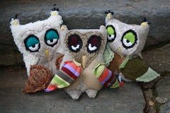 Owl plushie soft toy for children