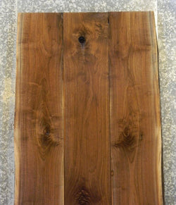 3- DIY Live Edge Black Walnut Bookmatched Dining Table Top Slabs 1075-1077