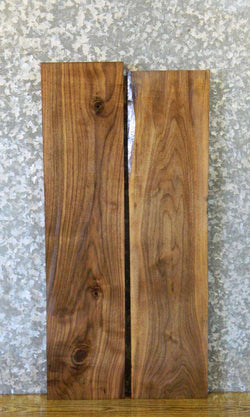2- Kiln Dried Craft Pack/Black Walnut Reclaimed Lumber Boards 11477-11478