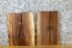 4- Salvaged Live Edge Black Walnut Craft Pack/Split Board Slabs 12662-12663
