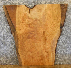 Natural Edge Salvaged Cherry End/Entry/Side Table Top Wood Slab 13356