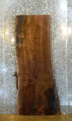 Salvaged Live Edge Bark Black Walnut Coffee/Sofa Table Top 1437
