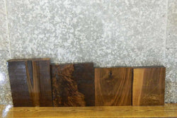 4- Salvaged Kiln Dried Black Walnut Craft Pack/Lumber Boards 14535-14538