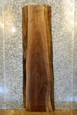 Natural Edge Black Walnut Console Table Top Slab 1478
