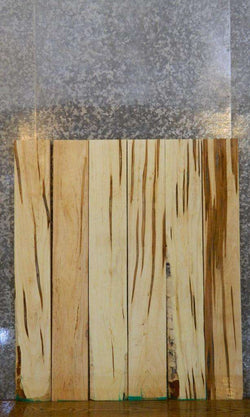 6- Kiln Dried Reclaimed Ambrosia Maple Lumber Boards LSWS15 15027-15032