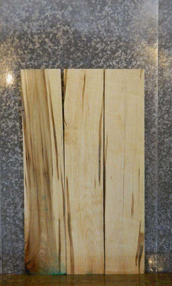 3- Salvaged Kiln Dried Ambrosia Maple Lumber Boards LSWS15 15122-15124