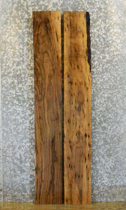 2- Rustic Pepper Eyed Black Walnut Lumber Boards LSWS16 15312-15313