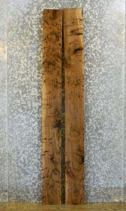 2- Salvaged Pepper Eyed Black Walnut Lumber Boards LSWS16 15314-15315