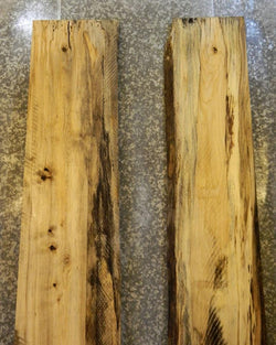 2- Hackberry Live Edge Bookmatched Dining/Conference Table Top Slabs 20448-20449