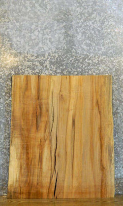Rustic Live Edge Spalted Maple Table Top/DIY Table Leg Slab 20716