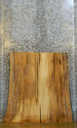 Reclaimed Live Edge Spalted Maple Table Top/Table Leg Slab 20718