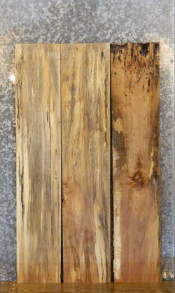 3- Spalted Maple Kiln Dried Salvaged Lumber Boards LSHA01 30050