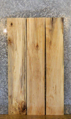 3- Spalted Maple Kiln Dried Reclaimed Lumber Boards LSHA01 30051