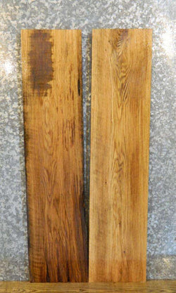 2- Rustic Red Oak Kiln Dried Shelf Slabs/Lumber Boards 30078