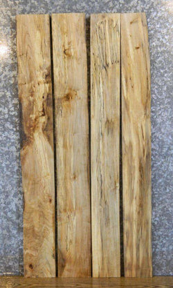 4- Reclaimed Kiln Dried Spalted Maple Lumber Pack Boards LSHA01 30186-30187