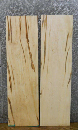 2- Reclaimed Kiln Dried Spalted Maple Lumber Boards LSHA01 30454