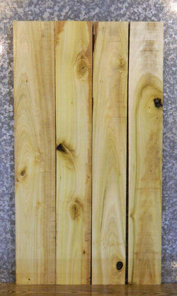 4- Rustic Kiln Dried Poplar Lumber Boards/Craft Pack Slabs 33087-33090