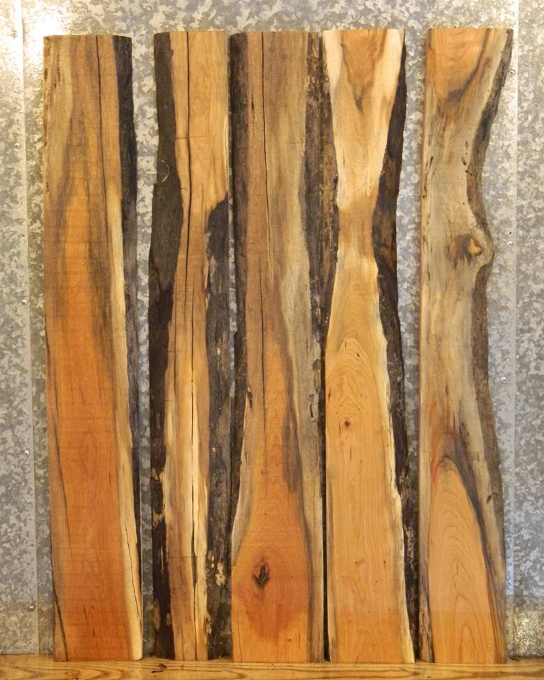 5- Kiln Dried Rustic Room Decor Cherry Project/Lumber Boards 33186-33190