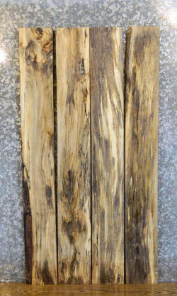 4- Salvaged Spalted Maple Kiln Dried Lumber Boards LSHA01 33219-33222