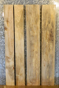 4- DIY Spalted Maple Straight Cut Solid Wood Lumber Boards LSHA01 33439-33442