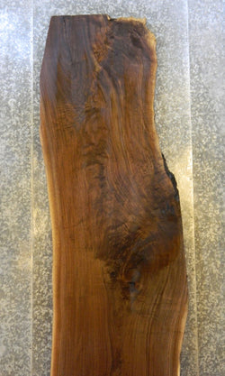 Salvaged Natural Edge Black Walnut Bar Top Wood Slab 39809