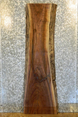 Salvaged Black Walnut Natural Edge Sofa Table Top 40093