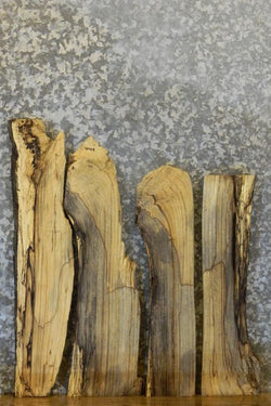 4- Partial Live Edge Hackberry Mirror Boards/Craft Pack 40427-40430