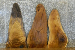 3- Live Edge White Oak Rustic DIY Charcuterie Boards 40493-40495