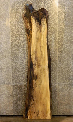 Spalted Maple Natural Edge Bar Top/Head/Footboard Rustic Wood Slab 40585
