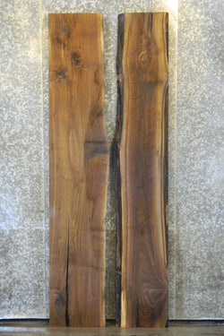 2- Live Edge Bookmatched Black Walnut Kitchen Table Top C 40613-40614