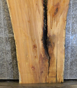 2- Live Edge Spalted Maple River Table Top/Split Board Slab Halves 40725