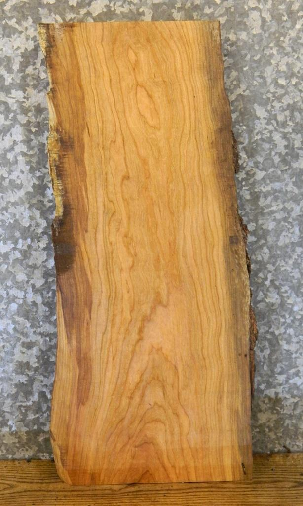 Reclaimed Live Edge Cherry Accent/Side/End Table Top Wood Slab I7 5066