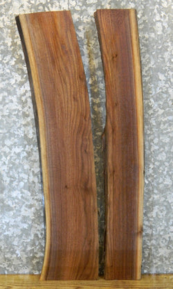 2- Natural Edge Black Walnut River Table/Split Board Slab Halves 5145