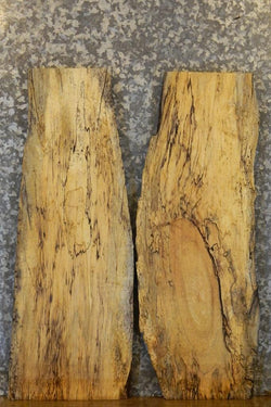 2- Spalted Maple End/Side Table Top Live Edge Slabs 5212-5213